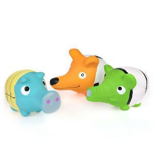 WONPET-3-5-034-Squeaky-Latex-Puppy-Toy-Long-Mouth-Animal-Squeaker-Small-Dog-Play