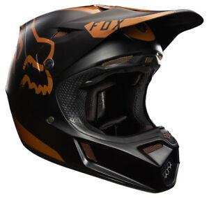 0f357995e FOX V3 MOTH LE MOTOCROSS MX HELMET - COPPER enduro bike mtb bmx MIPS ...