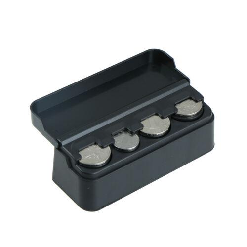 Car Interior Coin Pocket Cases Holder Plastics Storage Box Dispenser Organize WU