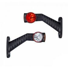 TRIPLE OUTLINE MARKER LIGHT WITH LONG OBLIQUE ARM [TRUCK PARTS & ACCESSORIES]