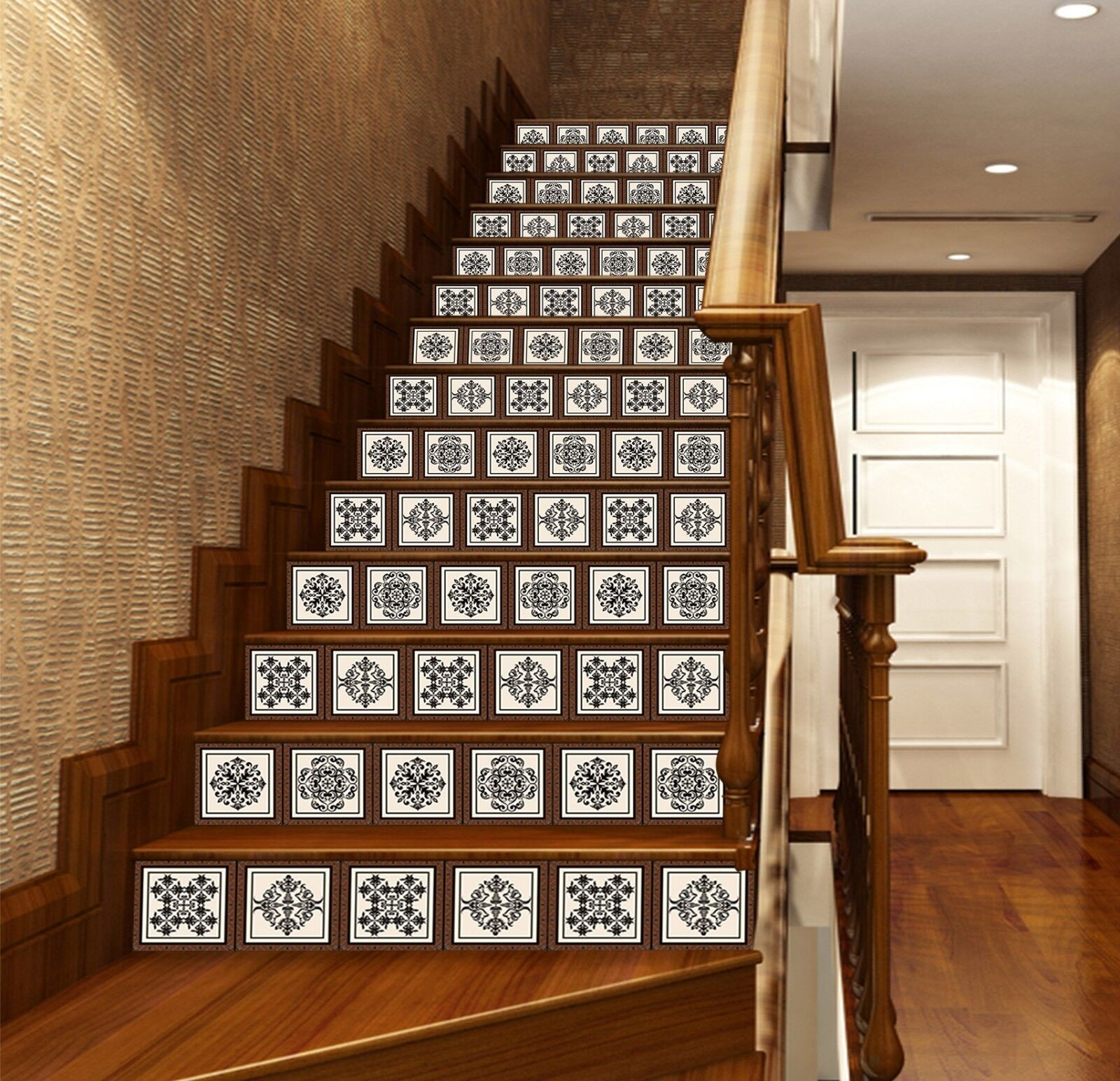 3D Totems 637 Stair Riser Decoration Photo Mural Vinyl Decal Wallpaper UK Lemon