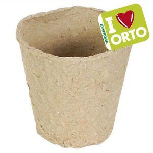 Pots-Ronds-Biodegradables-12PZ-VERDEMAX-L-039-Ensemencement-Plantes-Potager-Fleurs