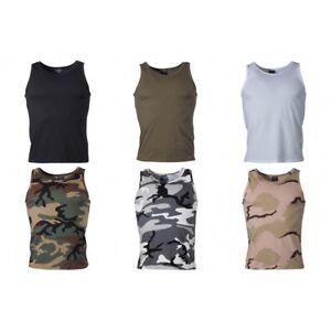 dfb3aa8bb0 Das Bild wird geladen US-Tank-Top-Achselshirt-Muskelshirt-Herren-Shirt-T-
