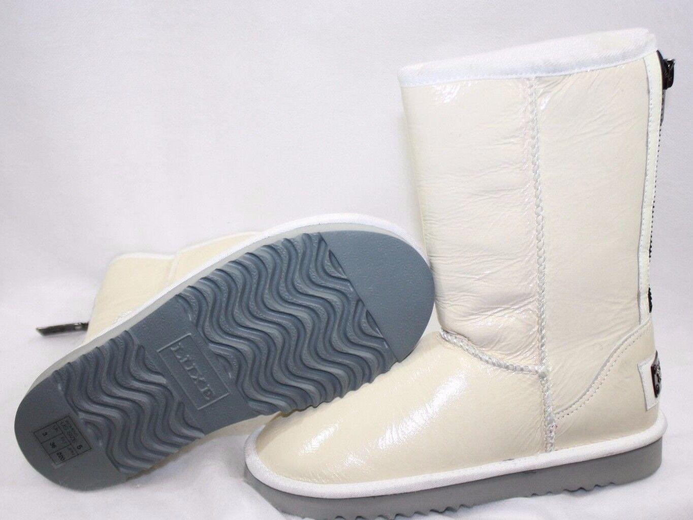 Nuevo para para para mujer Australia Luxe Amor botas blancoo corto cremallera 6  descuento de ventas