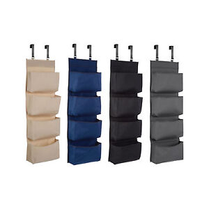 Image Is Loading 4 Tier Shoe Rack Over Door Storage Hanger