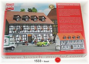 Busch Ho 1533 Brauhaus Kit De Montage # Neuf Emballage D'origine