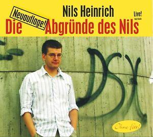 NILS-HEINRICH-DIE-ABGRUNDE-DES-NILS-LIVE-CD-NEU