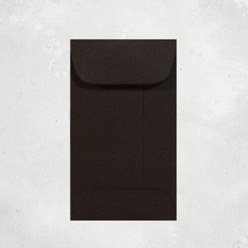 Gift Card Bulk Mini Gift Enclosure 1000 Black Envelopes Coin Envelopes