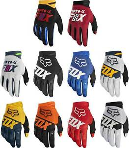 Fox Racing Dirtpaw Gloves MX Motocross Dirt Bike Off-Road ATV MTB Mens Gear