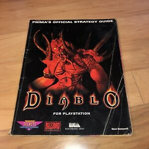 Diablo-Strategy-Guide-RARE-Sony-PlayStation-1-Version-PS1-PSX-Fun-Walkthrough