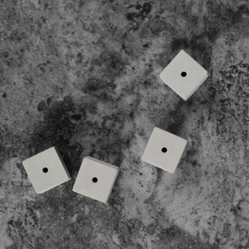 Hand Made DIY Cube Jewelry Pendant Silicone Mold Resin Diamond 6 Multi Cavity