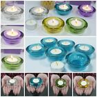 Glass Votive Candle and Tea Light Holder - Choose Your Quantity Various Colours