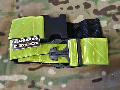 5 Pack Army Reflective Yellow PT Belt **New** U.S