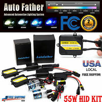 55w Canbus Ac Hid Xenon Conversion Kit H1 H3 H7 H8 H9 H11 9005 9006 No Flicker