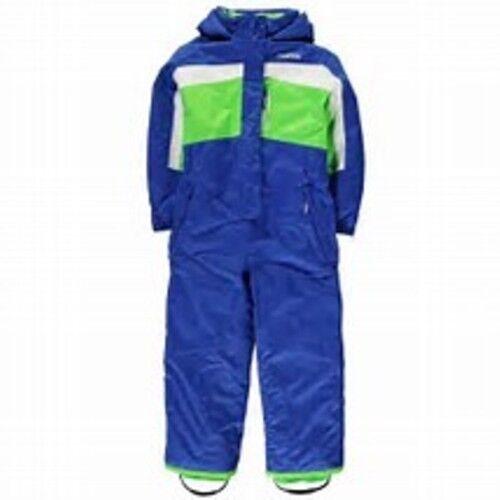 Lovely Caldo Unisex Ragazzi Ragazze Inverno Sci Neve Suit Blu Età 2//3 3//4