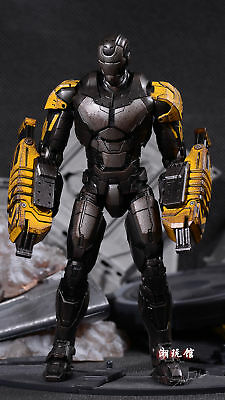 Comicave 1//12 Alloy Iron Man MK25 Striker Raiders Action Figure doll collection