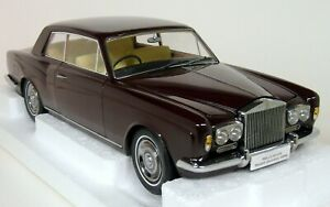 Paragon-1-18-Scale-Rolls-Royce-Silver-Shadow-MPW-2DR-Coupe-Burgundy-Model-Car