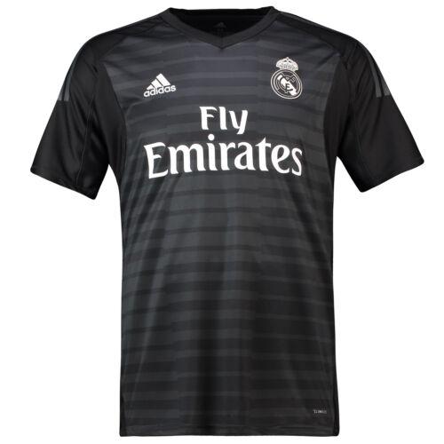 Real gardien 2018 Madrid du but Adidas Maillot officiel domicile 19 de Football de Hommes qRw0wpU