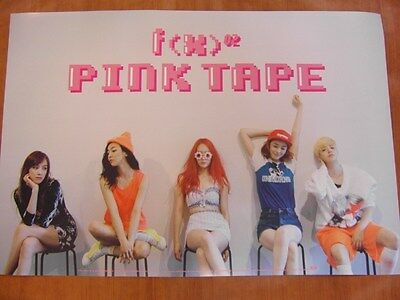 f(x) - Pink Tape [OFFICIAL] POSTER K-POP *NEW* FX