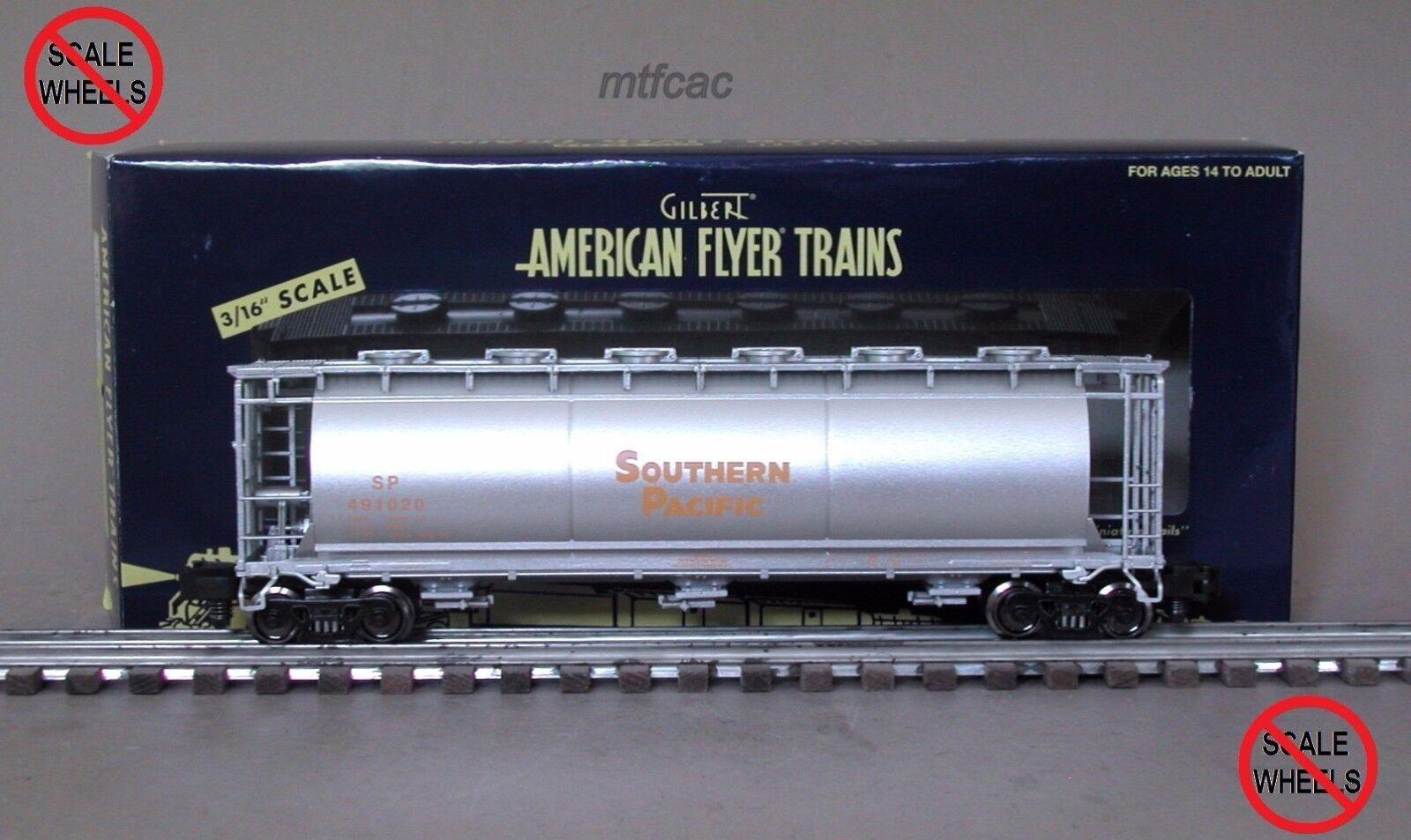 American Flyer (alta Cocheril) 6-48643 Southern Pacific cilíndrica tolva auto