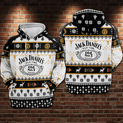 Men/'s Ugly Sweater Black Vest Hoodie All size S-5XL PLY P29