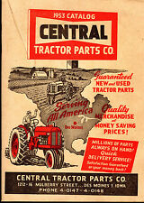 1953 CATALOG Central TRACTOR PARTS New Used TOOLS Etc. Des Moines Iowa