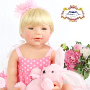 c471488a9 New Reborn Baby Doll 22 Toddler Full Vinyl Lifelike Dolls Boy Girl Gift  Sherry