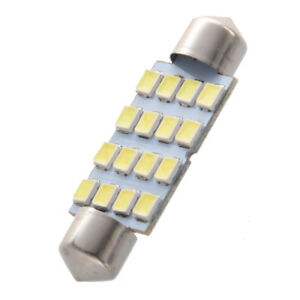 8-x-41mm-16-3528-SMD-LED-Bombillas-Luz-Interior-de-feston-de-cupula-de-coche-bla