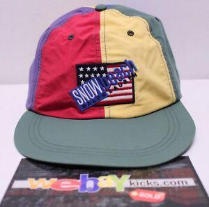 dc171ec93b7 Polo Ralph Lauren Snow Beach Yellow Blue Red Green Cap Hat Size ...