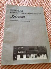 Roland Jx-8p Manual - Dutch
