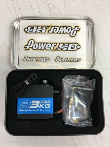 for RC Car Hobby FREE 25T HORN Power HD 23KG Torque Waterproof Servo WP-23KG