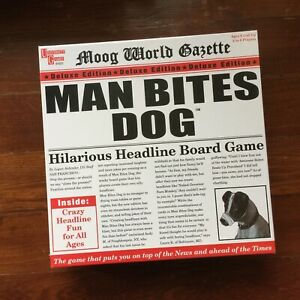 Man-Bites-Dog-Hilarious-Headline-Board-Game-University-Games-Sealed-New-In-Box