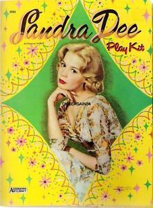 VINTAGE UNCUT 1960 SANDRA DEE PAPER DOLLS~#1 REPRODUCTION~RARE ONE DOLL SET!