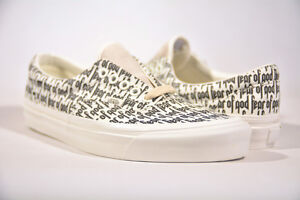 9489901a23a BRAND NEW FEAR OF GOD VANS ERA 95 REISSUE PACSUN FOG WHITE SIZE 5-10 ...
