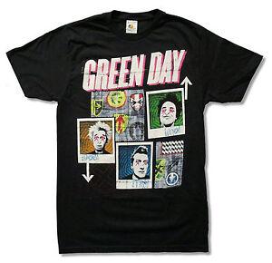 Green-Day-99-Revolutions-Tour-Black-T-Shirt-New-Official-Band-Merch