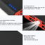 miniature 4 - 2000000mAh 4 USB Backup External Battery Power Bank Pack Charger for Cell Phone