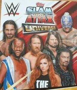 Topps-WWE SLAM ATTAX univers-Champion cartes X 1