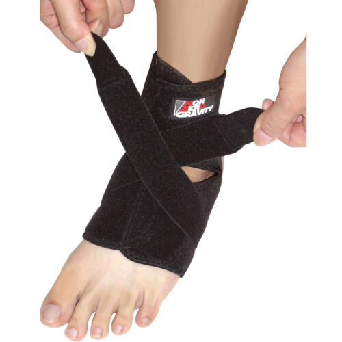 NonZero Gravity Breathable Adjustable Neoprene Ankle Support Brace One Size