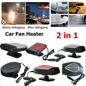 Car Auto Heater Cooler Dryer Defroster Hot Warm Fan With Handle 12V 150W