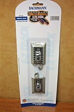 BACHMANN HO SCALE E-Z TRACK HAYES BUMPERS 2/cd. NS RAIL GRAY ROADBED