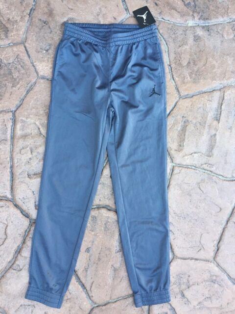 13c7f8f3940a Nike Boys Air Jordan Tricot Jumbo Elephant Cuffed Pants Dark Grey ...