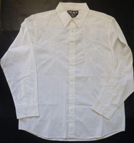 ECKO UNLTD SUBLIMINAL Woven White LS Shirt $58