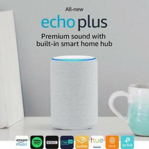 Amazon Eco Plus (2nd generación) con construido en arenisca Hub...