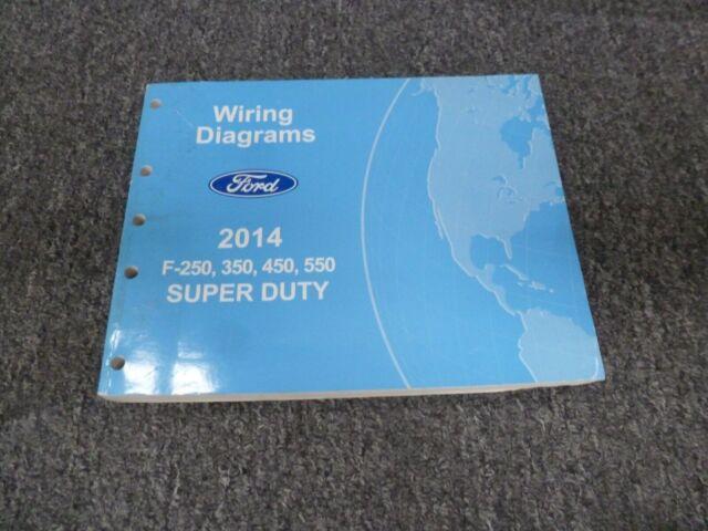 2014 Ford F450 Truck Electrical Wiring Diagrams Manual Xl Xlt Lariat Diesel