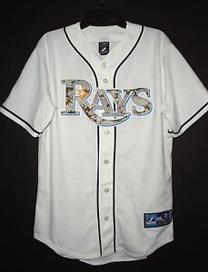 Tampa Bay Rays United States Marines Camo Majestic Jersey Men s 2XL ... 911539a7e