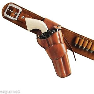 """Galco 1880 Western Holster Colt, Ruger 4 5/8"""", Right Hand Tan, Part # W-DRC150"""