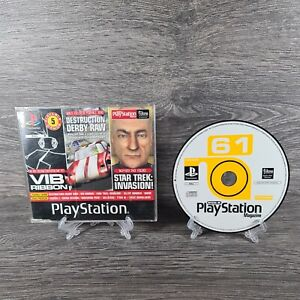 * Demo Disk 61 Vib Ribbon Tenchu Zerstörung Derby Playstation One 1 PSOne ps1 PS