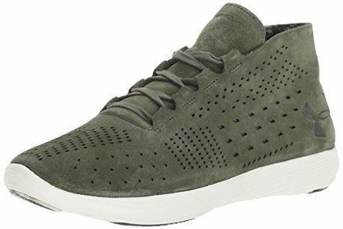 NEW Under Armour Street Precision Mid Luxe Suede 1296226-330 Grn femmes Sz 6-9.5