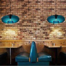 Fixture Ceiling Lamp Retro Industrial Vintage Pendant light Deco Chandelier Blue