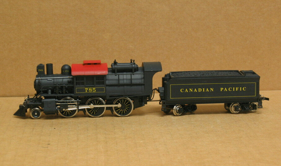Mehano HO Canadian Pacific 2-6-0 Camel Back  785